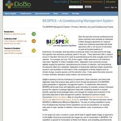 BIOSPEX—A Crowdsourcing Management System