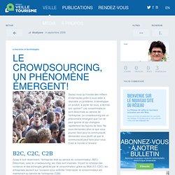 » Le crowdsourcing, un phénomène émergent!