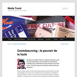 Crowdsourcing : le pouvoir de la foule
