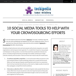 10 Crowdsourcing Social Media Tools