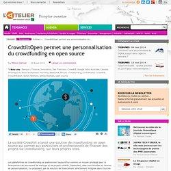 CrowdtiltOpen permet une personnalisation du crowdfunding en open source