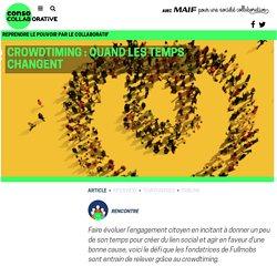 Crowdtiming : quand les temps changent