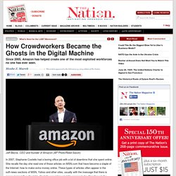 How Crowdworkers Became the Ghosts in the Digital Machine