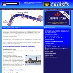 Crown River Cruises | Tour Cruises