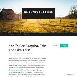 Sad To See Croydon Fair End Like This!