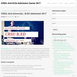 CRSU Jind University
