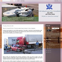 JTB Law Group - Fight For Your Rights: Why It's Crucial To Hire A Truck Accident Injury Lawyer In Your Litigation