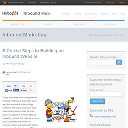 8 Crucial Steps to Building an Inbound Website
