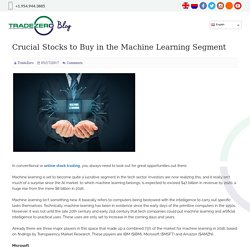 Crucial Stocks to Buy in the Machine Learning Segment