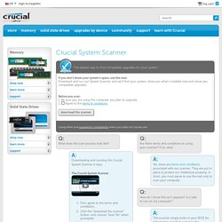 Crucial.com - Crucial System Scanner