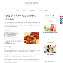 Croûtes à pizza aux tomates séchées