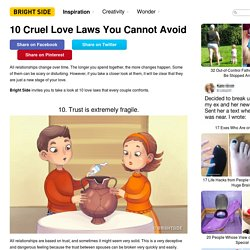 10Cruel Love Laws You Cannot Avoid