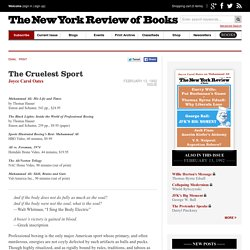 The Cruelest Sport by Joyce Carol Oates