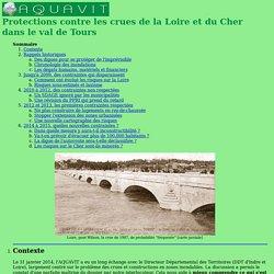Crues à Tours, inondations, Cher et Loire