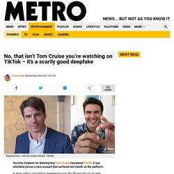 Tom Cruise deepfake videos go viral on TikTok