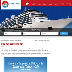 Cruise and Ferries for Sale
