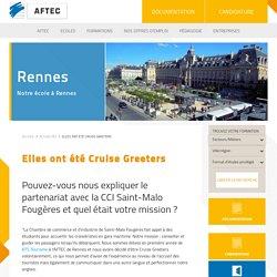 Elles ont été Cruise Greeters - Actualités Rennes - AFTEC