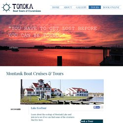 Most Enjoyable & Unforgettable Boat Trips in Montauk - MTK Cruises LLC