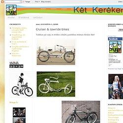Cruiser & lowride bikes