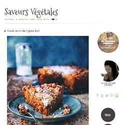 ► Crumb carrot cake ! (gluten free)