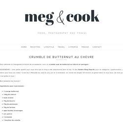 Crumble de butternut au chèvre - Meg&cook