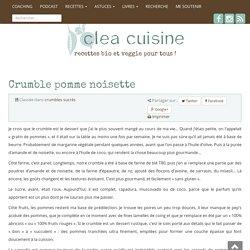 » Crumble pomme noisette