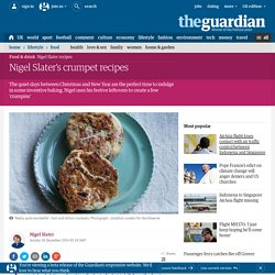 Nigel Slater's crumpet recipes