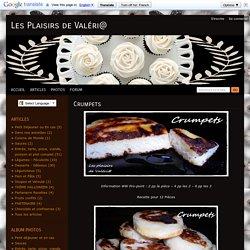 Crumpets - Les Plaisirs de Val ri@