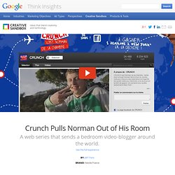 Crunch Pulls Norman Out of His Room