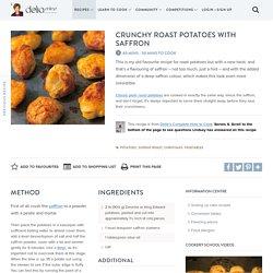 Crunchy Roast Potatoes with Saffron