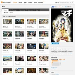 Magi Full episodes streaming online for free