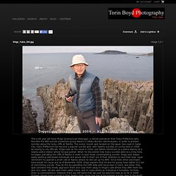 Yukio Shige's crusade to prevent suicides along the Tojinbo cliffs in Japan's Fukui Prefecture