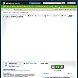 Crush the Castle | Action Games