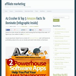 Az Crusher & Top 3 Amazon Facts To Dominate (Infographic Inside)