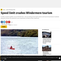 Speed limit crushes Windermere tourism