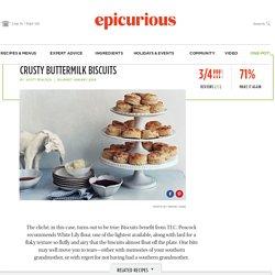 Crusty Buttermilk Biscuits recipe