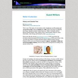 Walter Cruttenden - Precession and Ancient Knowledge