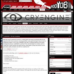 CryENGINE 3: Terrain Sculpting tutorial