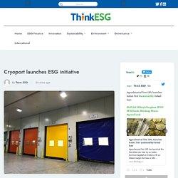 Cryoport launches ESG initiative -