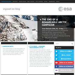 CryoSat Arctic Campaign