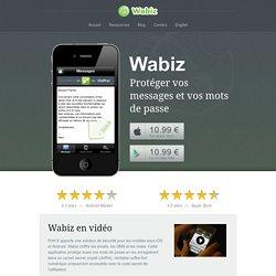 Wabiz crypte vos emails et vos SMS sur iPhone (iOs) et AndroidWabiz