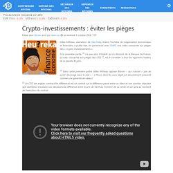 Crypto-investissements : éviter les pièges