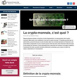 29 juin 2017 - Que sont les crypto-monnaies, et que représentent-elles ?