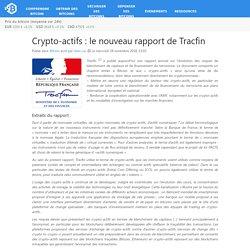 Crypto-actifs : le nouveau rapport de Tracfin