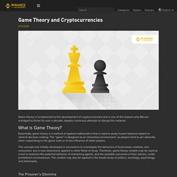 Game Theory and Cryptocurrencies