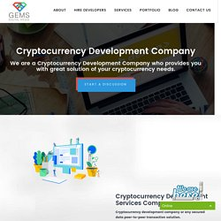Cryptocurrency Development Company