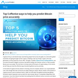 Cryptocurrency Trading Platform to peridict Bitcoin?