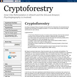 What is a Cryptoforest?