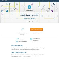 Applied Cryptography and Encryption