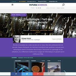 Cryptologie : l'art des codes secrets